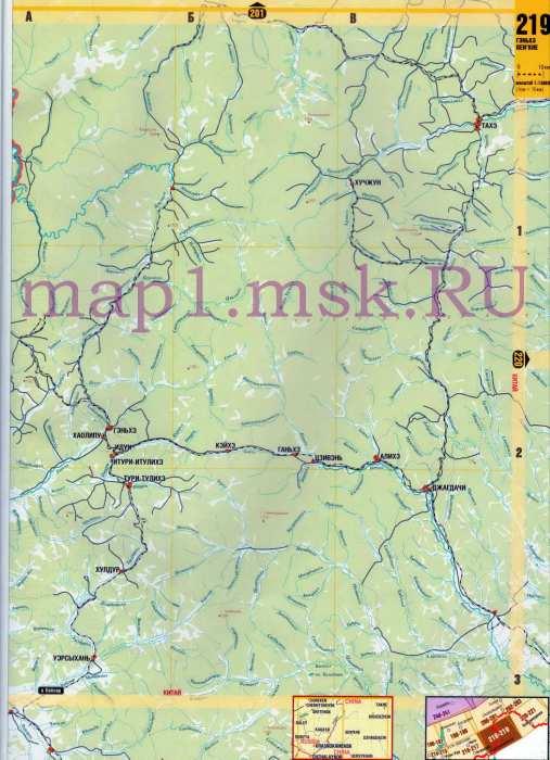 Карта Читинской области. Подробная карта юга Читинской ...: http://obl-map.ru/525966.html