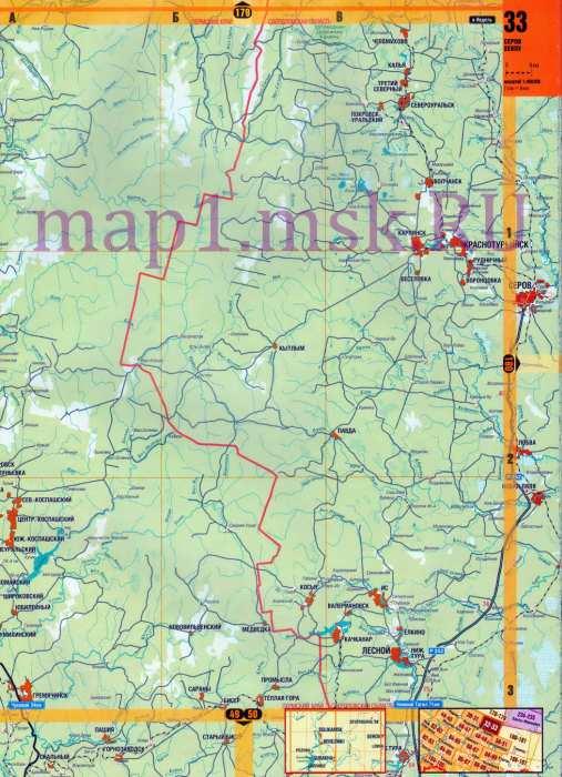 П бисер чусовской район карта авто